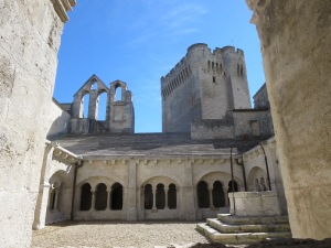 Montmajour Abbey near Arles