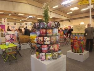 Lots of food stalls