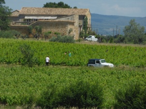 Jeff a Ste Suzanne (photo de La Garrigue)