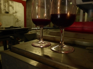 Today - Grenache and Syrah has matured