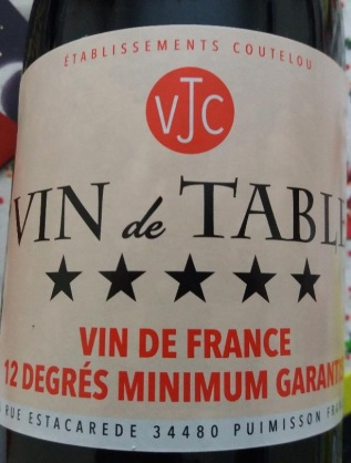 Vin De Table